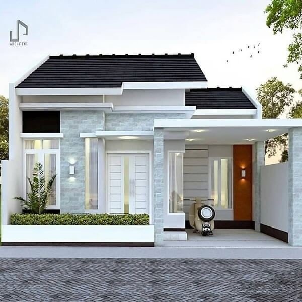 pilar rumah minimalis mewah