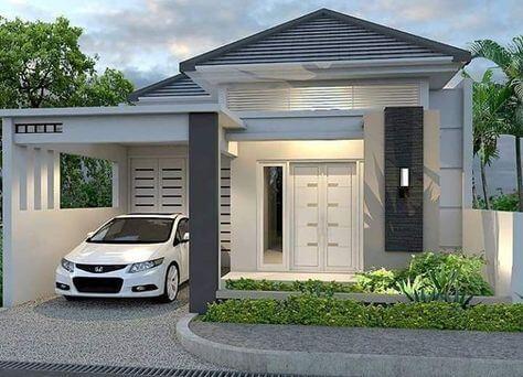 tiang teras rumah modern minimalis