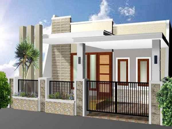 pilar rumah sederhana