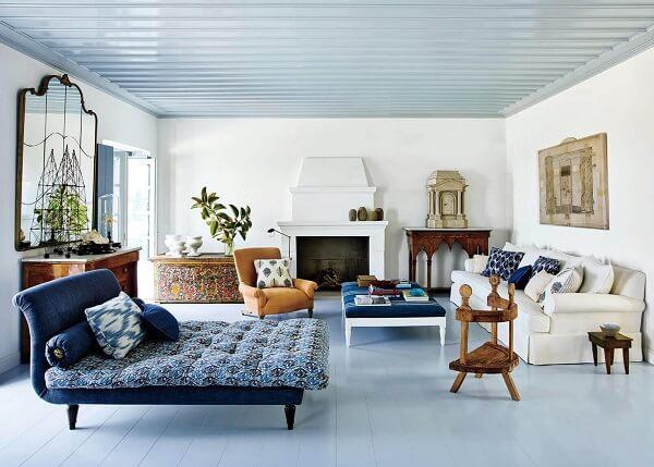 warna cat plafon biru muda
