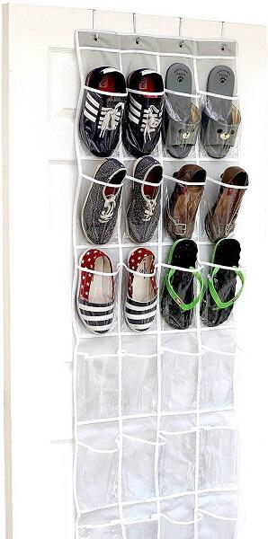 Penyimpanan sepatu plastik