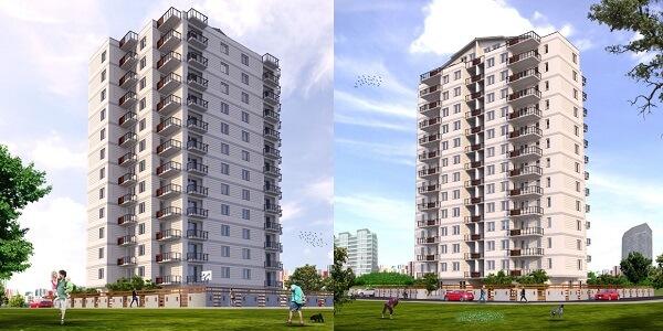 proyek konstruksi perumahan residensial