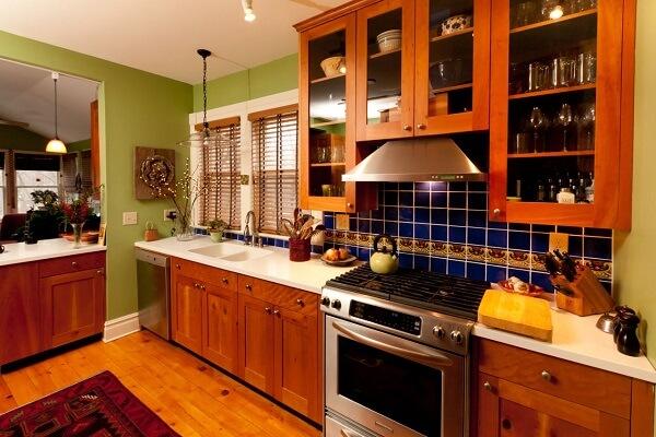 keramik lantai dapur kayu parket