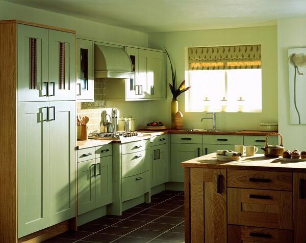 keramik lantai dapur kayu standar