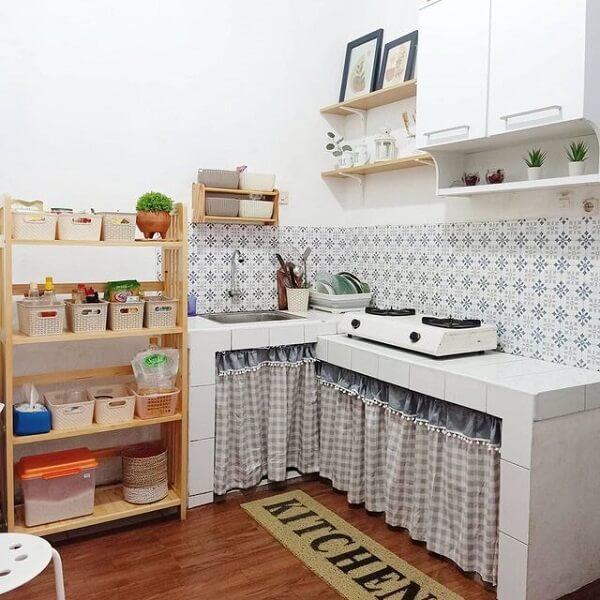 keramik lantai dapur vinyl