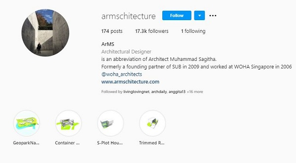 instagram armschitecture