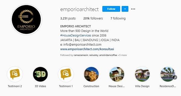 instagram emporio arsitek
