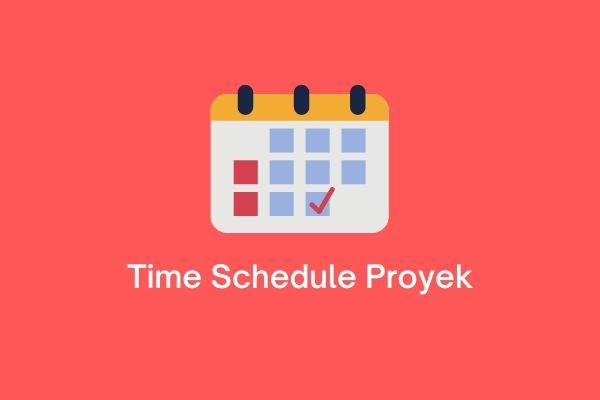time schedule proyek